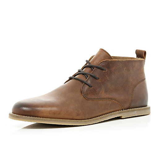 Mens Brown Leather Boots | Homewood Mountain Ski Resort